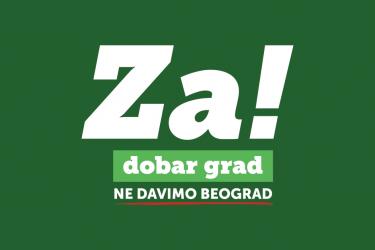 Pokret NDMBGD: Podrška nezavisnim kandidatima na izborima za mesne zajednice u Novom Sadu
